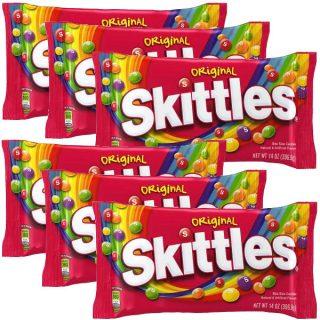 Dulces Skittles de 14 oz