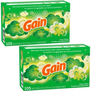 Gain Dryer Sheets 105 ct