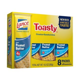 Lance Toasty Sandwich Crackers