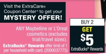 Maybelline - CVS Ad 1-14-18