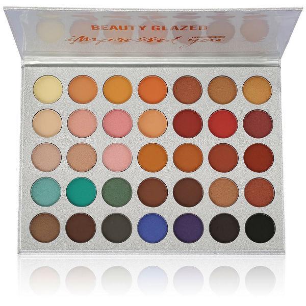 Paleta de Sombras Beauty Glazed de 35 colores