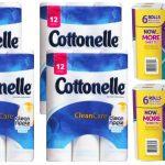 Empezando 2/4/10 — (2) Paquetes de Papel toalla Viva y (4) Cottonelle de 12 ct SOLO $3.16 c/u en Walgreens