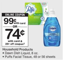 Puffs y Dawn - Walgreens Ad 2-11-18