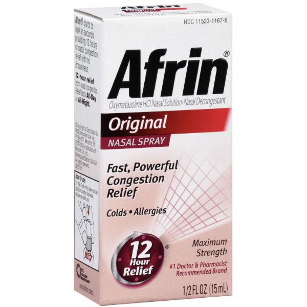 Spray Nasal Afrin Original Relief