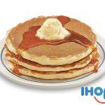 Todos los Pancakes que puedas comer en IHOP por $3.99