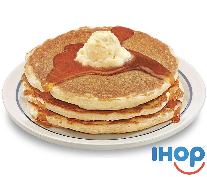 Todos los Pancakes que puedas comer en IHOP