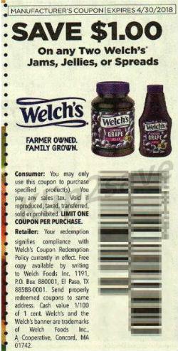Welch's - RedPlum 1-21-18
