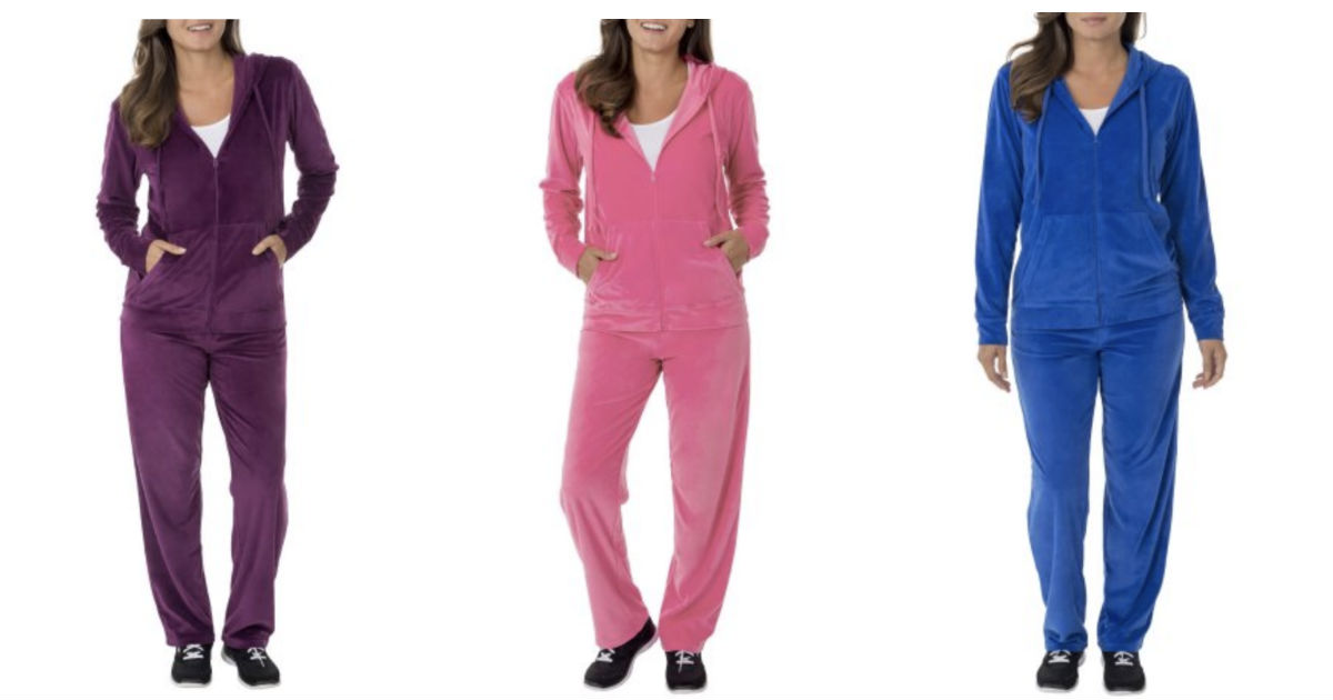 Women's Velour Hoodie and Pant