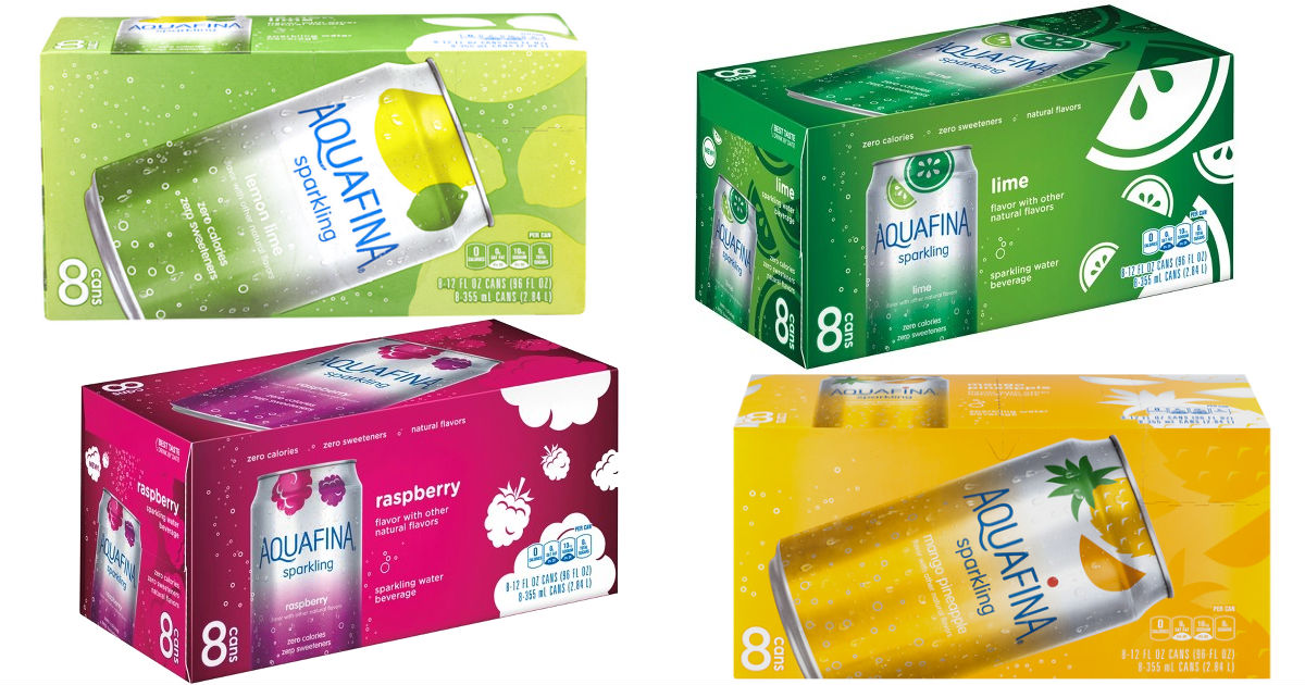 Aquafina Sparkling Drinks 8-Pk