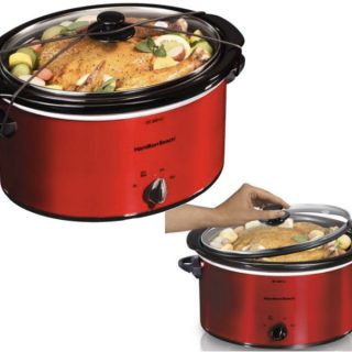 Hamilton Beach 5 Quart Portable Slow Cooker