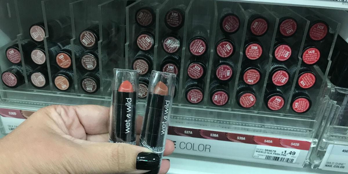 Lipstick Wet n Wild Silk Finish
