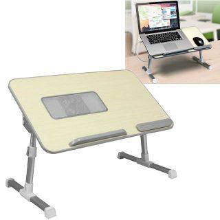Mesa Ajustable para Laptop con Ventilador Aluratek