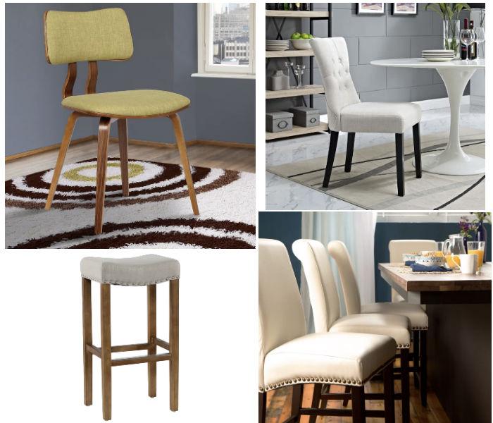 Hasta el 70 de descuento en sillas de comedor y stools for Lo ultimo en sillas de comedor