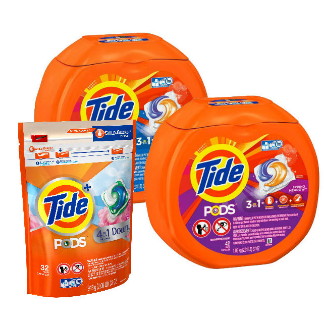 Tide Pods 32-42 ct