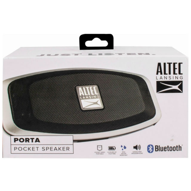 Bocina Altec Lansing Porta Bluetooth