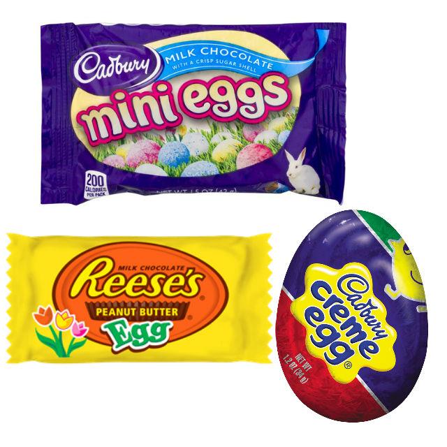 Chocolates de Easter