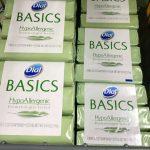Jabón Dial Basics de 3 ct