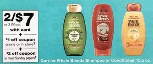 Garnier Whole Blends - Walgreens Ad 3-25-18
