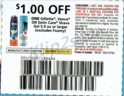 Gillette Venus - PG 3-4-18
