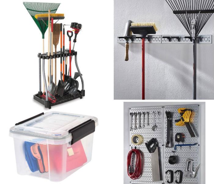 Herramientas de Almacenamiento para Garages
