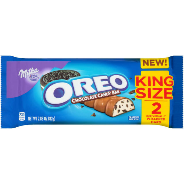 Milka Oreo King Size Chocolate Candy Bar
