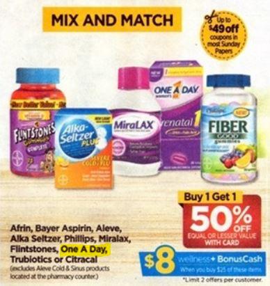 Multivitamina One A Day - Rite Aid Ad 3-18-18