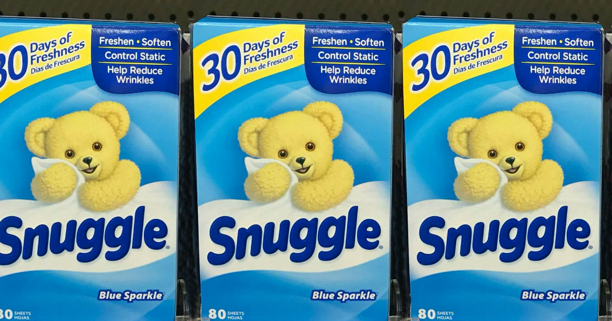 Snuggle Dryer Sheets