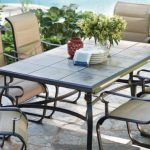 Belleville 7-Piezas Padded Sling Outdoor Dining Set