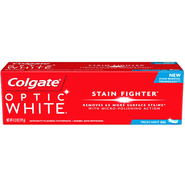 Colgate Optic White Stain Fighter
