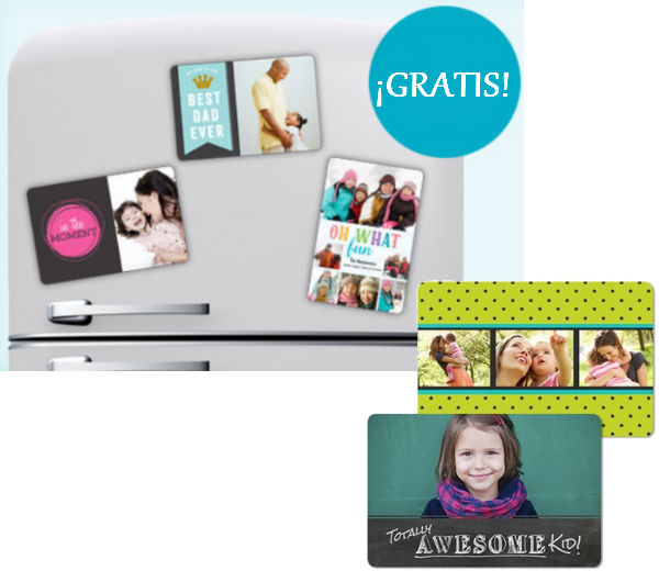 Foto Imán 4x6 personalizada GRATIS