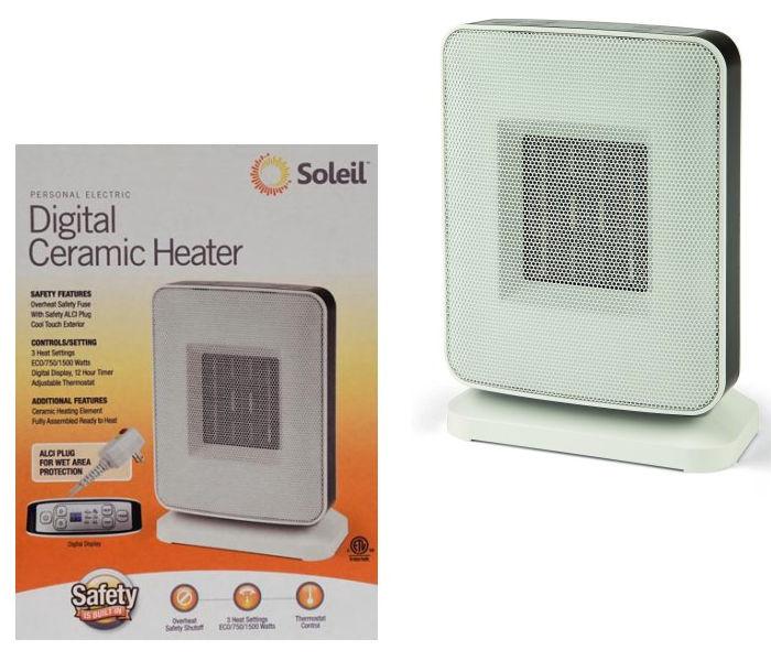 Heater Digital Portátil de Cerámica