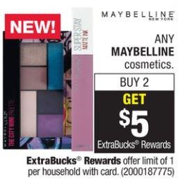 Maybelline - CVS Ad 4-29-18