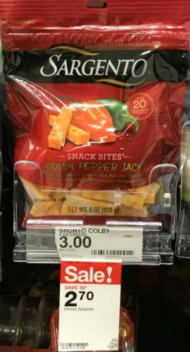Sargento Snack Bites en Target