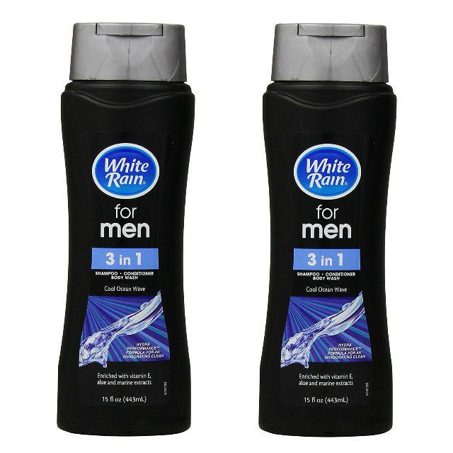 White Rain Men 3-in-1 Shampoo