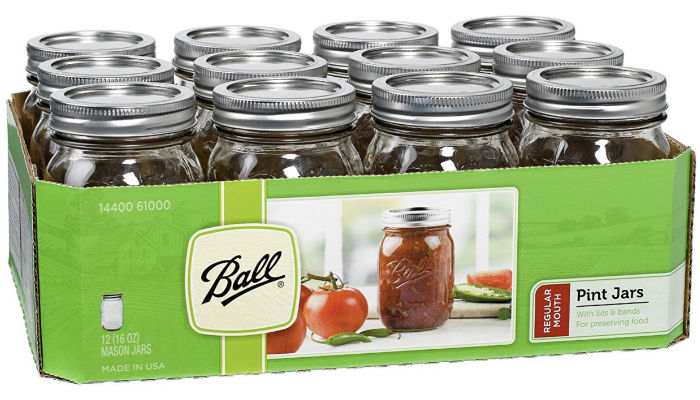 Ball Canning Jars 12pk solo $2.49 en Target