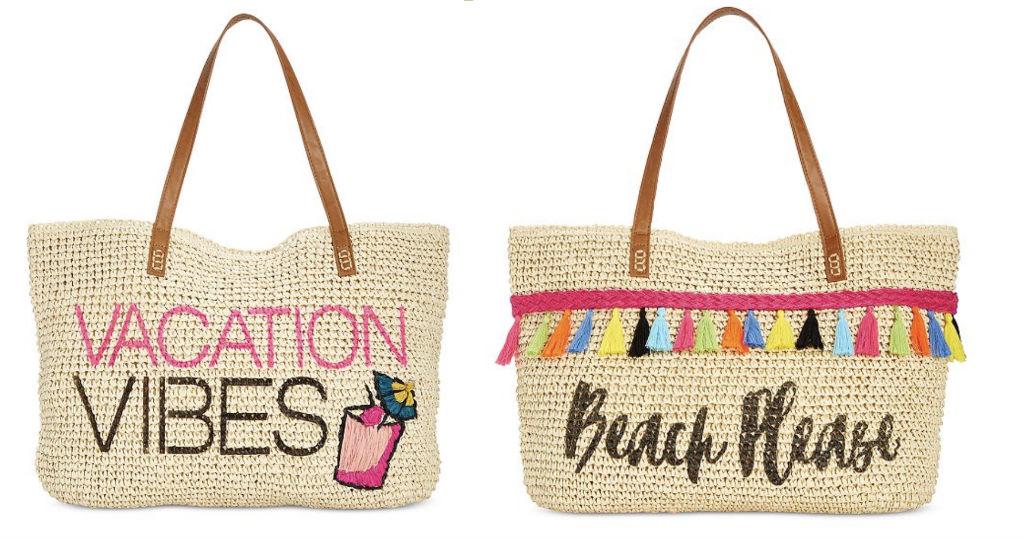 Bolsos para la Playa solo $23.99 en Macy's