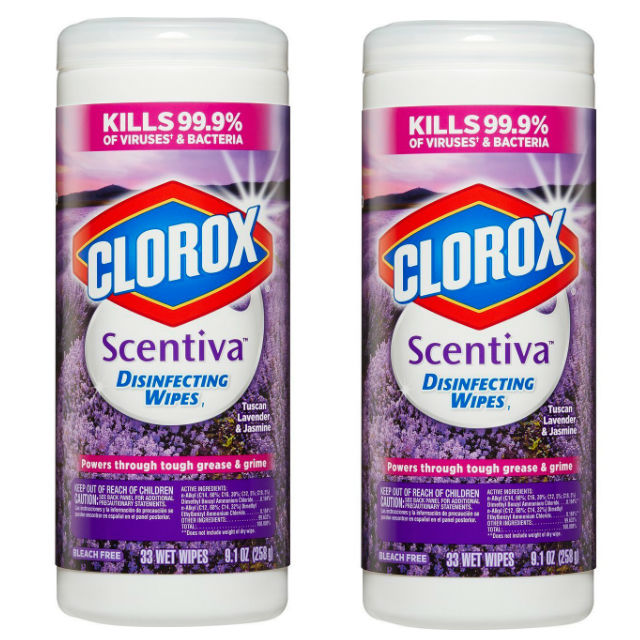 Clorox Scentiva Disinfecting Wipes