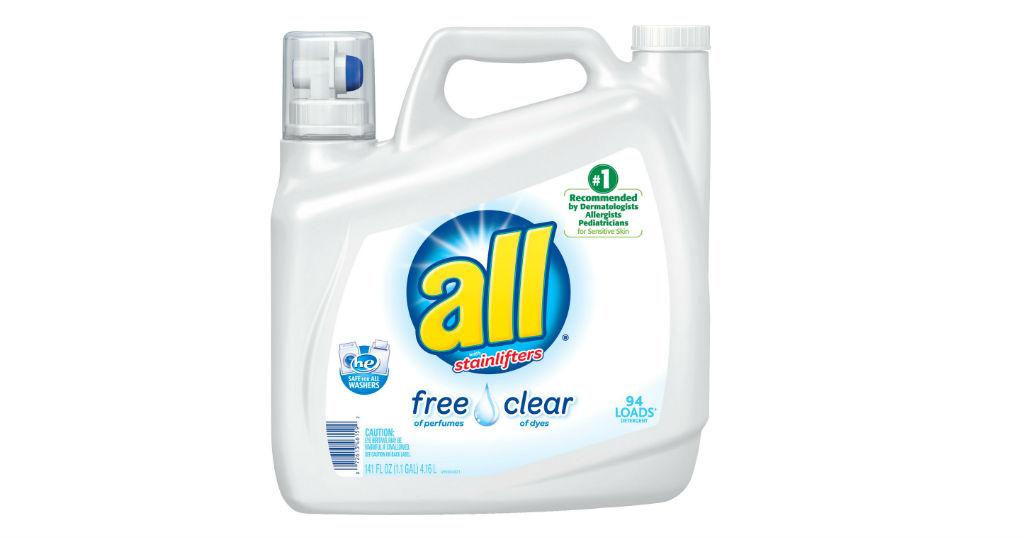 Detergente Liquido All de 141 oz