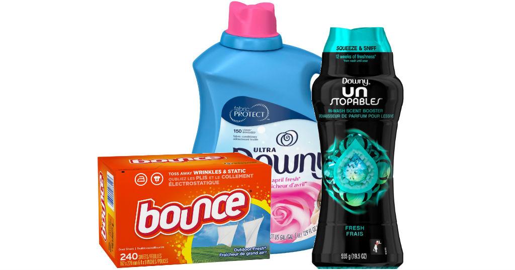 Downy Unstopables, Downy Fabric Softener o Bounce