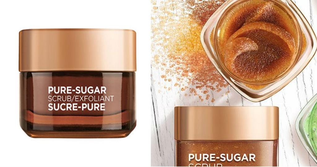 Muestra Gratis de L'Oreal Paris Smooth & Glow Pure-Sugar Scrub