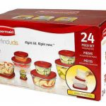 Rubbermaid Food Storage Container Set de 24 pc solo $10 en Walmart