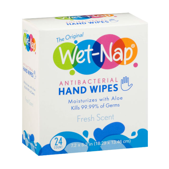 Wet-Nap Hand Wipes