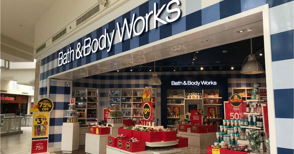 Bath & Body Works: Venta Semi Anual - Ahorras hasta un 75% de descuento