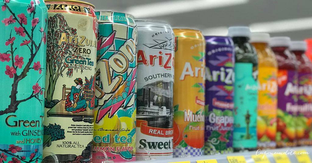 Bebidas Arizona a solo $0.50 en Walgreens
