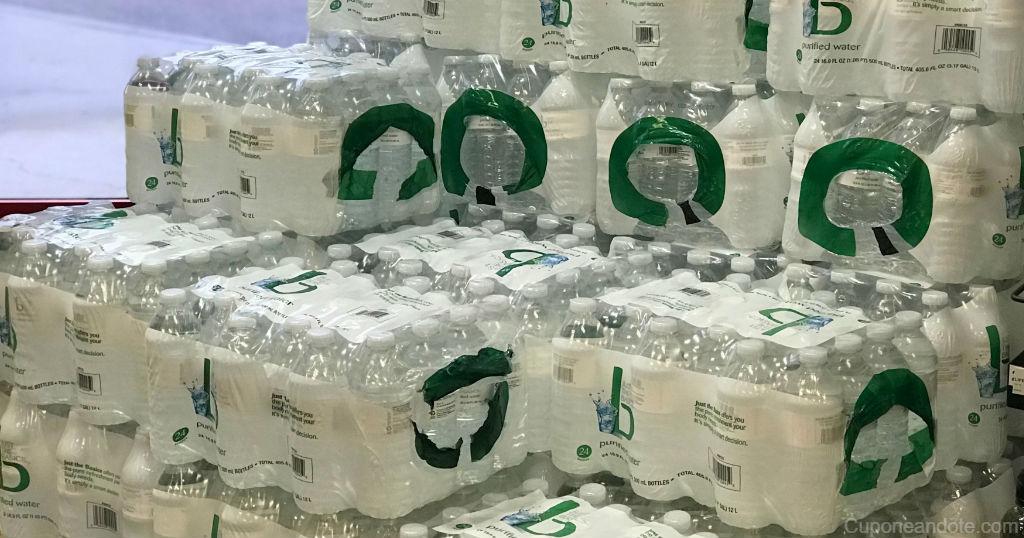 Caja de Agua Just The Basics de 24 ct