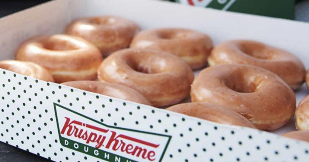 Docena de Donas GRATIS al Comprar una en Krispy Kreme
