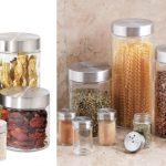 Oggi Canisters & Spice Jars de 8 Piezas