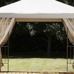 Outdoor Oasis Steel Frame Gazebo con Canopy