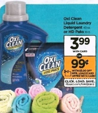 OxiClean - Rite Aid Ad 7-8-18