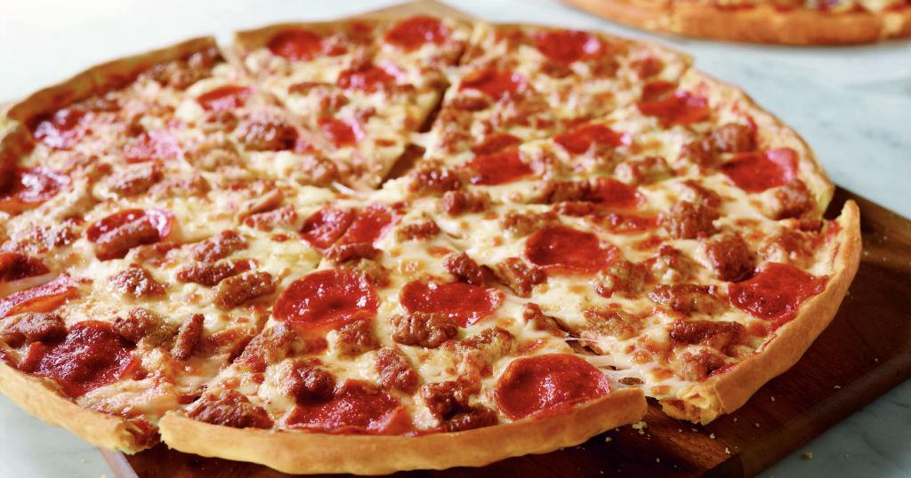 Pizza GRANDE con dos ingredientes